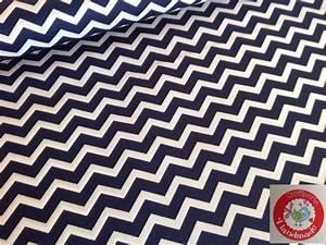 Stoffe Zum Nähen Kaufen : stoff grafische muster baumwolle chevron zickzack wei blau ein designerst ck von ~ Buech-reservation.com Haus und Dekorationen