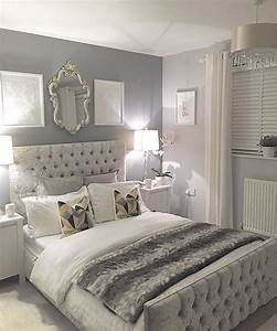 New 25+ Romantic Gray Bedrooms Design Decoration Of Best ...