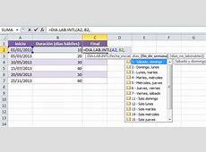 Calcular una fecha futura en Excel Excel Total
