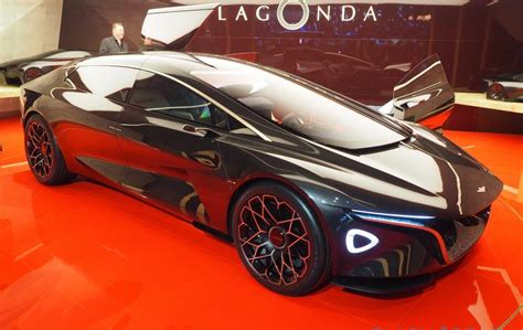 Aston Martin Lagonda Vision Previews All-ev Luxe Future