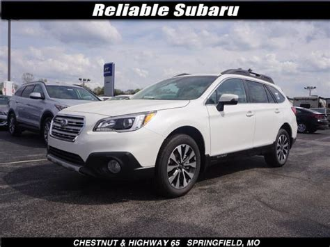 white subaru outback 2017 white subaru outback used cars in springfield mitula