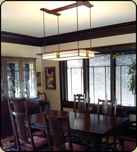 Craftsman Style Dining Room Chandeliers by 17 Best Images About Name Corner Table On