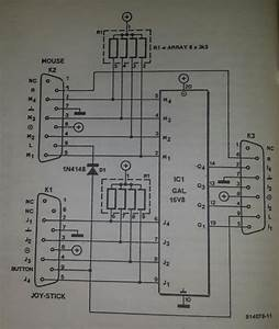 Mouse Or Joystick Switch For Amiga