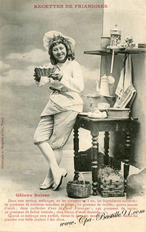 recettes de cuisine anciennes bergeret cartes postales anciennes