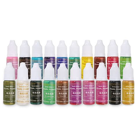 Coloring Uv Resin by 15g Shiny Color Epoxy Uv Resin Pigment Coloring Dye Glue