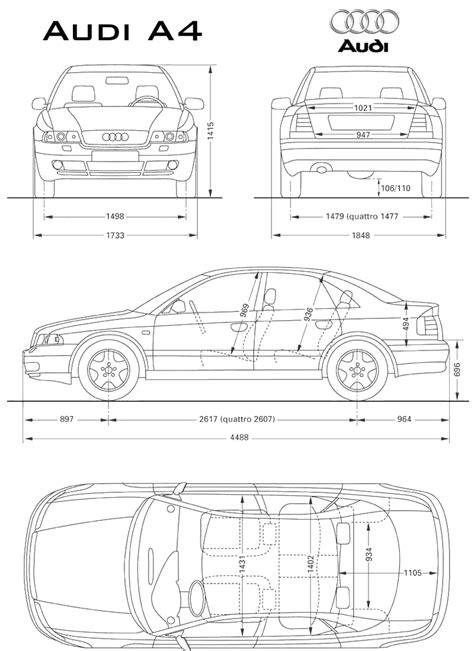 Car Blueprints / Чертежи автомобилей - Audi