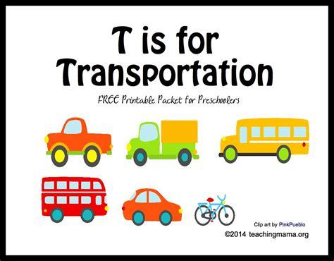 t is for transportation letter t printables 153 | TisforTransportation
