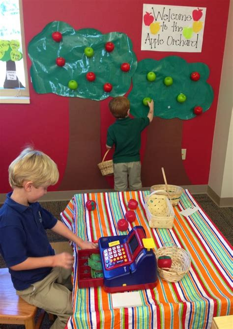 apple orchard apple picking dramatic play from pre k 504 | 6c4d81980f7bb81009d95a011b3a480e