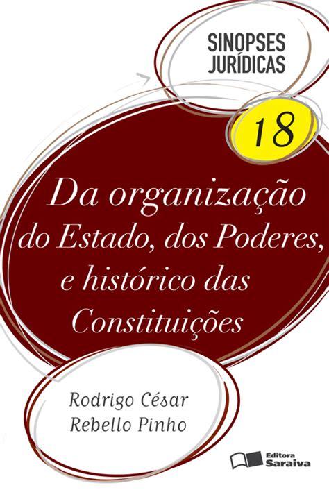 Direito constitucional – col. Sinopses jurídicas – vol. 17 – 16ª.