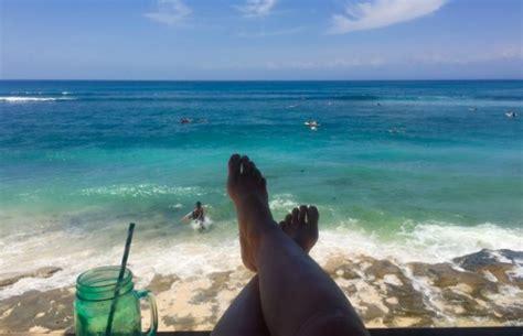zuid bali witte stranden en azuurblauwe zee
