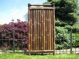 Bambuszaun Kajuku 180 Cm Hoch X 90 Cm Breit