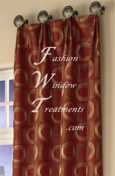 how to hang drapes from knobs images living room