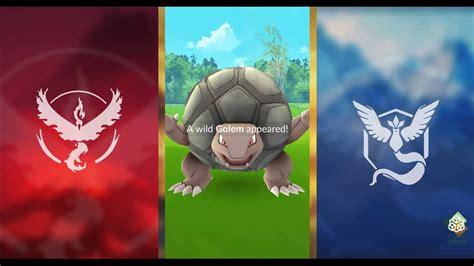 Pokemon Go #076 Golem Catch!