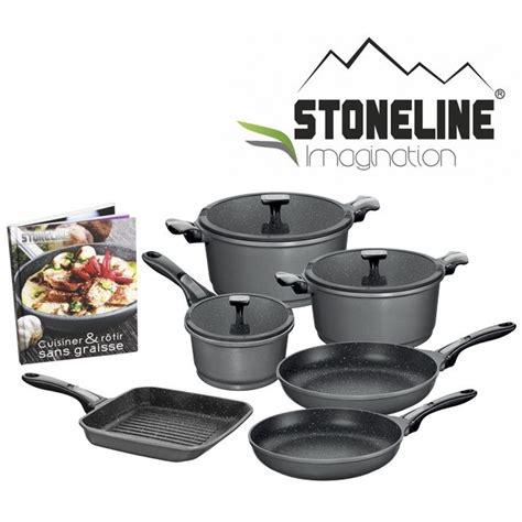 batterie cuisine stoneline poele stoneline mundu fr
