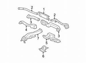 Gmc Envoy Windshield Defroster Nozzle  Chevrolet  Gmc