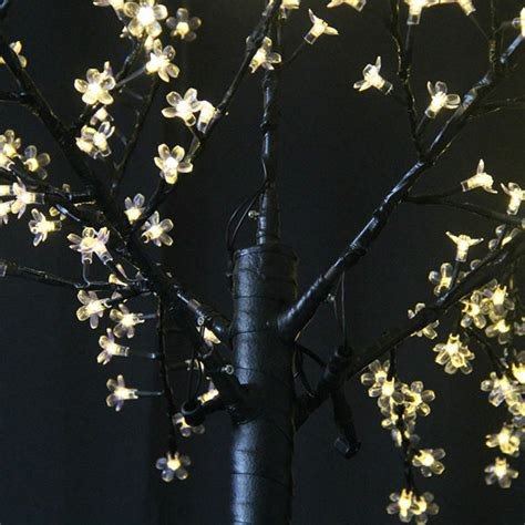 artificial flower outdoor lights light up cherry