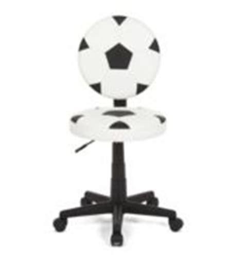 ballon chaise de bureau meubles et déco chambre d 39 enfant fan de football lit