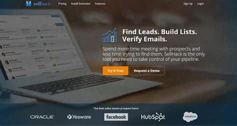 Sellhack, Trova Lead, Crea Liste E Verifica Le Email