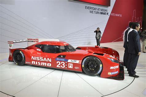 nissan gt  lm nismo sends  hp   front wheels