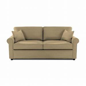 klaussner furniture brighton microsuede queen sleeper sofa With klaussner sectional sleeper sofa