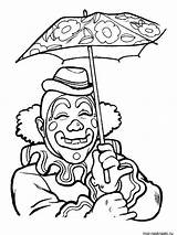 Clown Coloring Pages Printable sketch template
