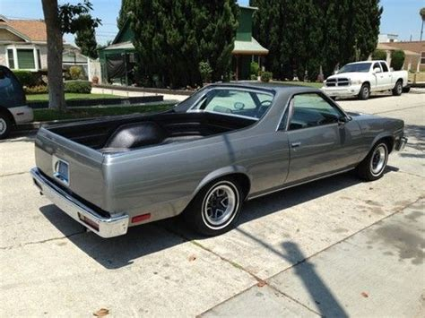 Find Used 1982 Chevrolet El Camino, Immaculate, Clean