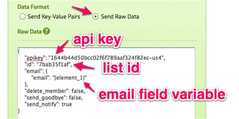 delete image mailchimp template mailchimp integration html form builder online php form