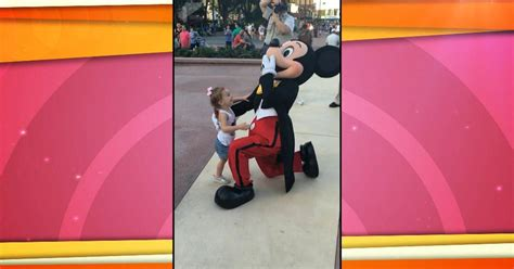 sweet  year  starstruck meeting mickey mouse