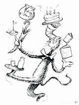 Coloring Seuss Birthday Ham Eggs Printable Hat Cartoon Sheets Sheet Cats Animal Preschool Lovely Bubakids Gcssi sketch template