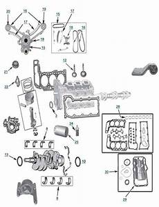 Jeep Liberty 3 7l Engine Parts