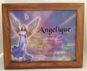 Wooden Frame with Name Meaning