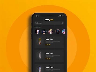 App Ui Commerce Elegant Concepts Inspiration Paints