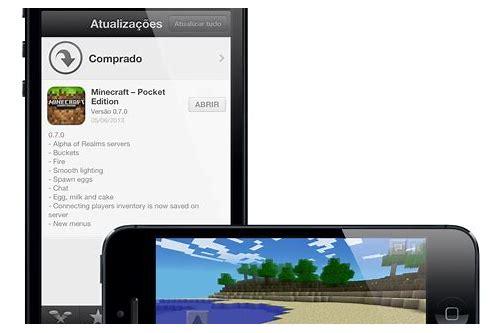 minecraft pocket edition ios baixar do aplicativo ipad