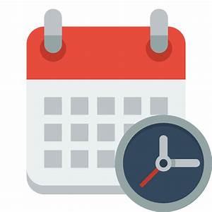Calendar clock Icon | Small & Flat Iconset | paomedia
