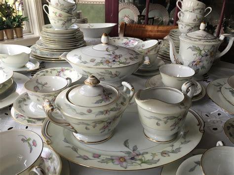 dinnerware china complete service sango fine