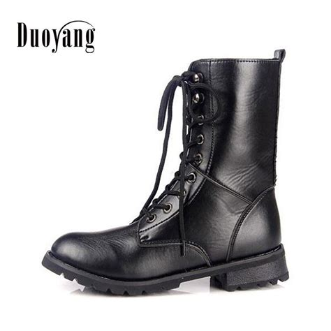 Winter Autumn Lace Martin Boots Motorcycle