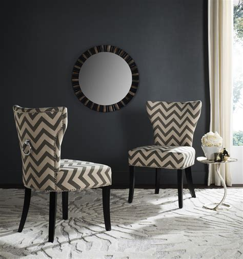 ring back dining chair orb upholstered dining chair