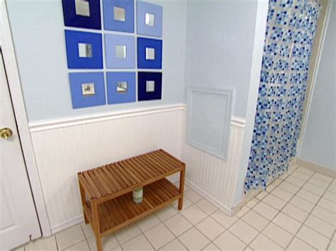Beadboard Projects :  Install Wainscoting