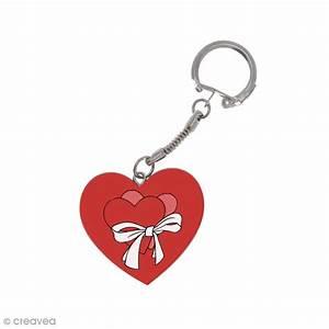Porte Clé Coeur : porte cl s coeur en bois d corer porte cl s d corer creavea ~ Teatrodelosmanantiales.com Idées de Décoration
