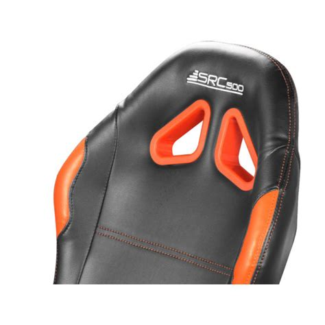 siege baquet pliable subsonic src500 driving cockpit orange siège pc