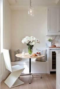80 idees pour bien choisir la table a manger design for Meuble salle À manger avec chaise cuisine blanche