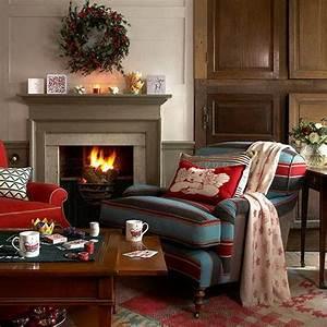 60 elegant christmas country living room decor ideas for Country living room decorating ideas