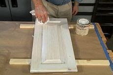 How To Whitewash Paint Cabinets Already Stained by How To Make A Pickled Or White Wash Finish Gustavian