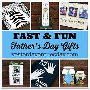 Awesome Handmade Dad's Day Gifts | Yesterday On Tuesday