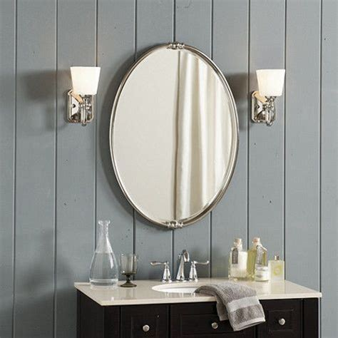 bathroom mirror oval best 25 oval bathroom mirror ideas on half 11064