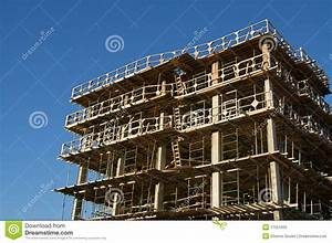 Residential Building In Construction Stock Photos