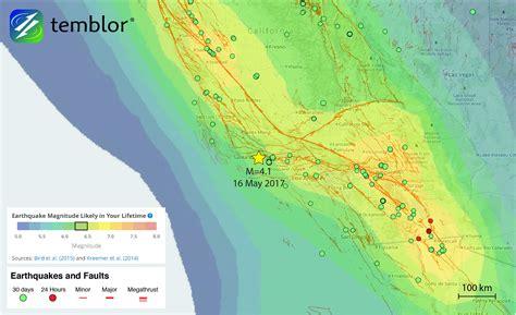 m 4 1 santa barbara earthquake highlights local quake