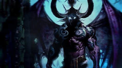 World Of Warcraft Night Elf Wallpaper Demon Hunter Wow Wallpaper Wallpapersafari