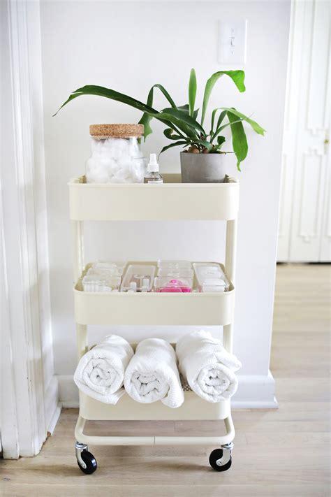 Bathroom Tray Ikea by 60 Smart Ways To Use Ikea Raskog Cart For Home Storage