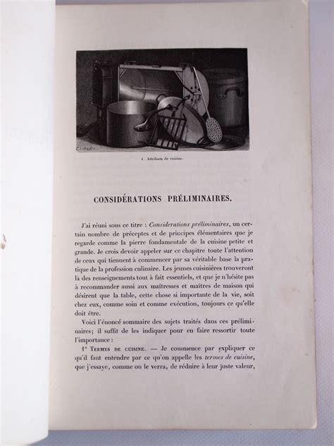 le livre de cuisine gouffe le livre de cuisine edition originale edition